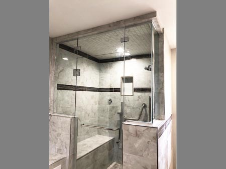custom glass shower door installers