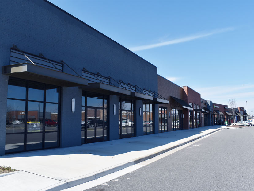 commercial glass storefront windows doors installation riverdale hampton va