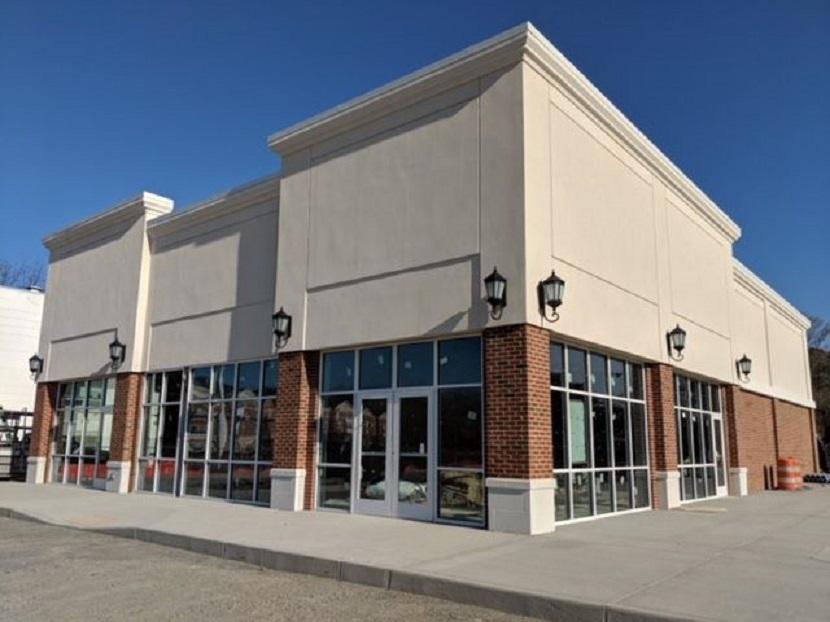 retail glass storefront christopher newport university